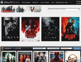 directstream.ws screenshot