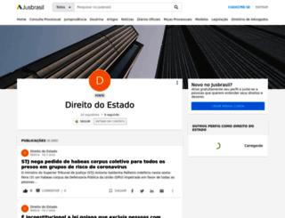 direito-do-estado.jusbrasil.com.br screenshot