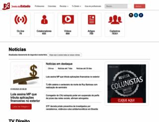 direitodoestado.com.br screenshot
