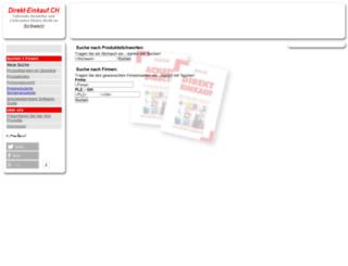 direkt-einkauf.ch screenshot