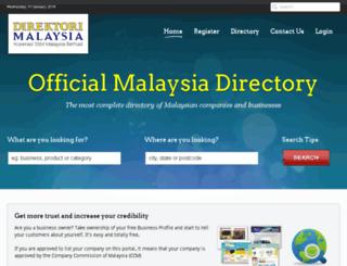 direktorimalaysia.com screenshot