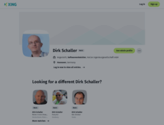 dirk-schaller.de screenshot