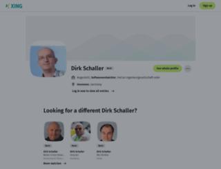 dirk-schaller.de screenshot