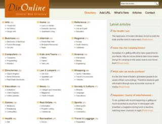 dironline.org screenshot