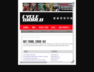 dirt-bikes.cycleworld.com screenshot