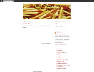 dirtcheapdeli.blogspot.com screenshot