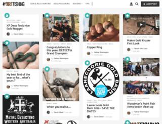 dirtfishing.com.au screenshot