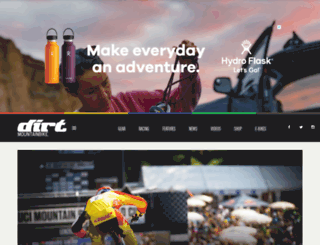 dirtmountainbike.com screenshot