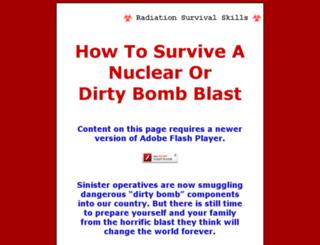 dirtybombsurvival.com screenshot
