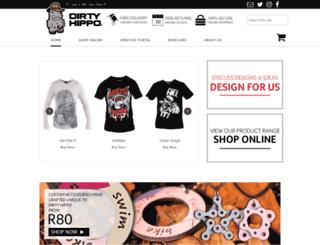 dirtyhippo.com screenshot