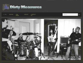 dirtymeasures.com screenshot