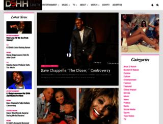dirtysouthhiphop.com screenshot