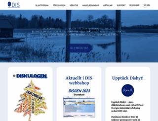 dis.se screenshot