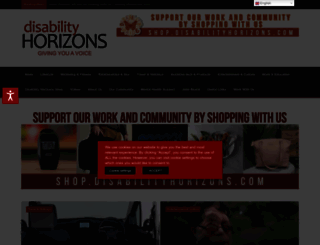 disabilityhorizons.com screenshot