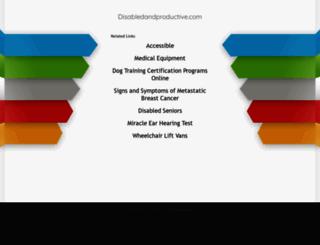 disabledandproductive.com screenshot