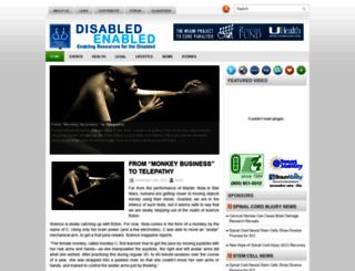 disabledenabled.org screenshot