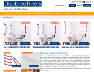 disabledtoilets.co.uk screenshot