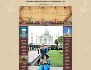 disabledtravelersguide.com screenshot