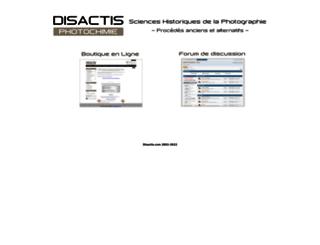 disactis.com screenshot