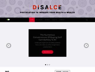 disalce.com screenshot