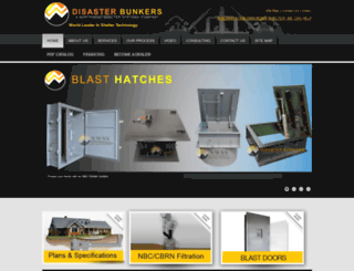 disasterbunkers.com screenshot