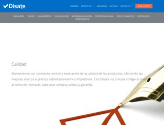 disate.es screenshot