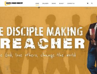 disciplemakerministry.com screenshot