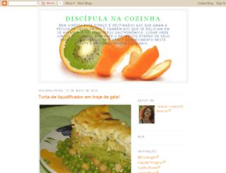 discipulanacozinha.blogspot.com screenshot