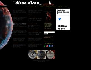 disco-disco.com screenshot