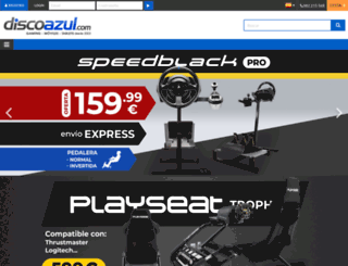 discoazul.com screenshot