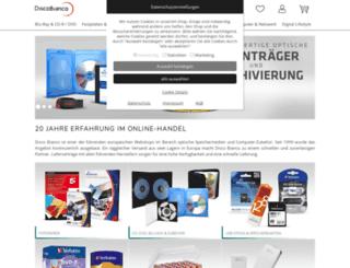 discobianco.com screenshot