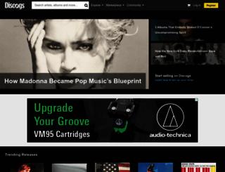 discogs.com screenshot