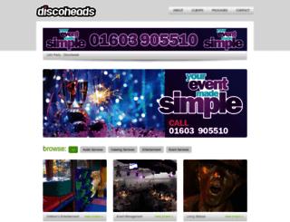 discoheads.com screenshot