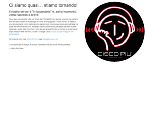 discopiu.com screenshot