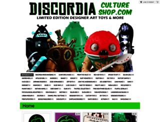 discordiacultureshop.storenvy.com screenshot