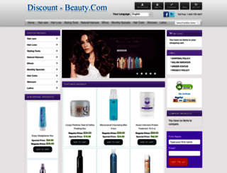 discount-beauty.com screenshot