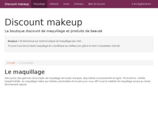 discount-makeup.fr screenshot