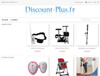 discount-plus.fr screenshot