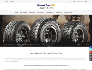 discount-tires-2go.com screenshot