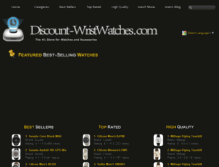discount-wristwatches.com screenshot