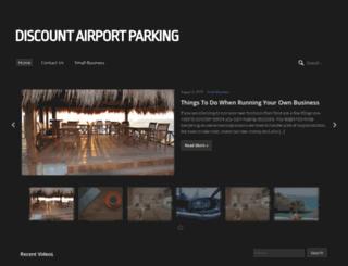 discountairportparking.com.au screenshot