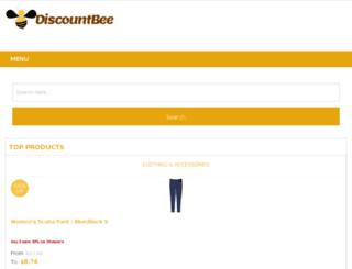 discountbee.com screenshot