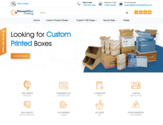 discountboxprinting.com screenshot