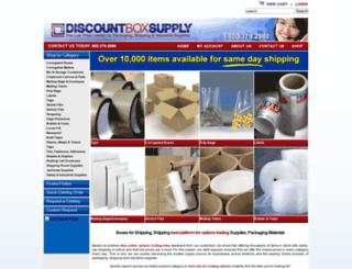 discountboxsupply.com screenshot