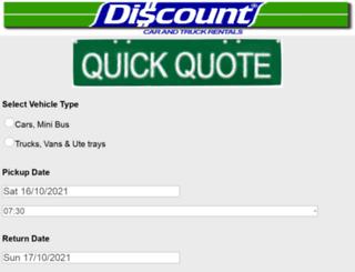 discountcar.com.au screenshot