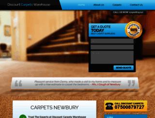 discountcarpetswarehouse.com screenshot