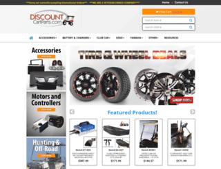 discountcartparts.com screenshot