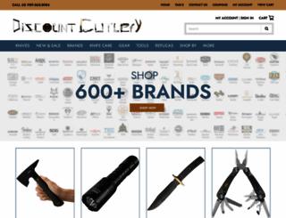 discountcutlery.net screenshot