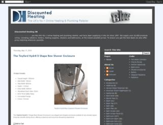 discountedheating.blogspot.com screenshot