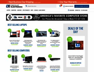 discountelectronics.com screenshot
